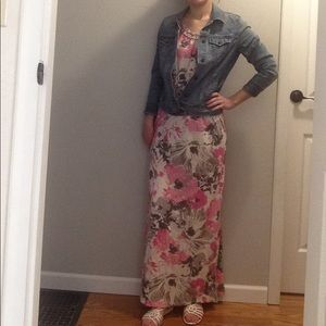 Sonoma Floral Maxi Dress
